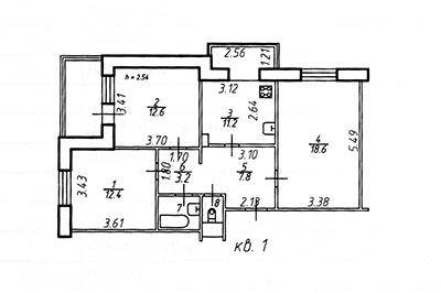 Технический план квартиры в Красногорске