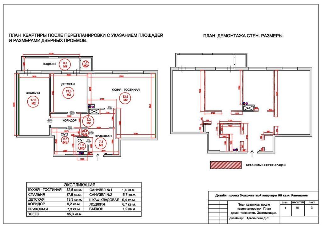 Технический план на квартиру в Москве