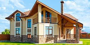 Оформление жилых и садовых домов